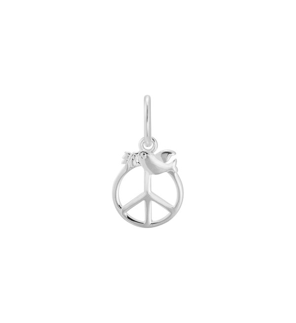 Little Kirstin Ash Dove Peace Charm