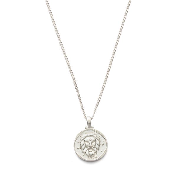 Kirstin Ash Leo Zodiac Necklace- Sterling Silver