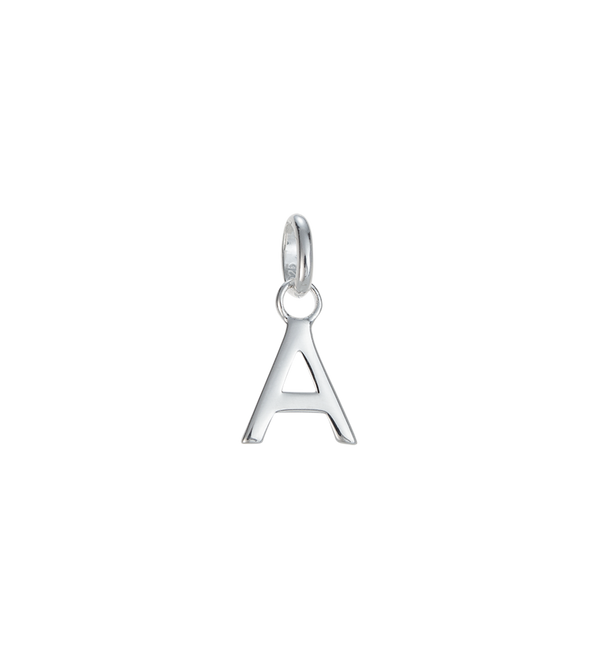 Kirstin Ash Initial A-Z- Sterling Silver