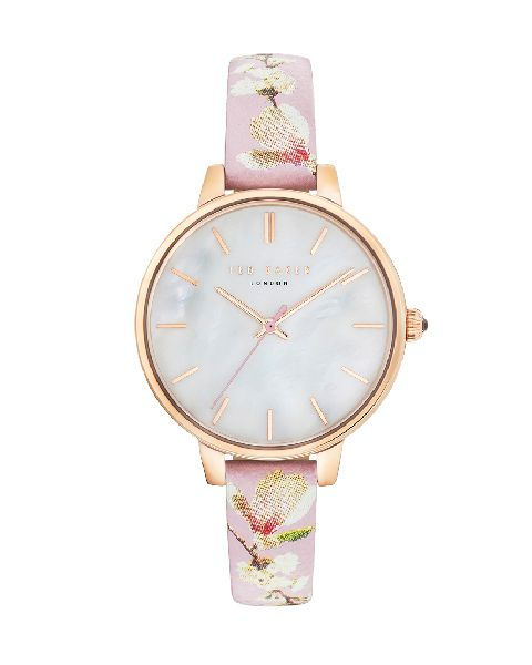 Ted Baker Kate Collection Mother of Pearl Pink Floral