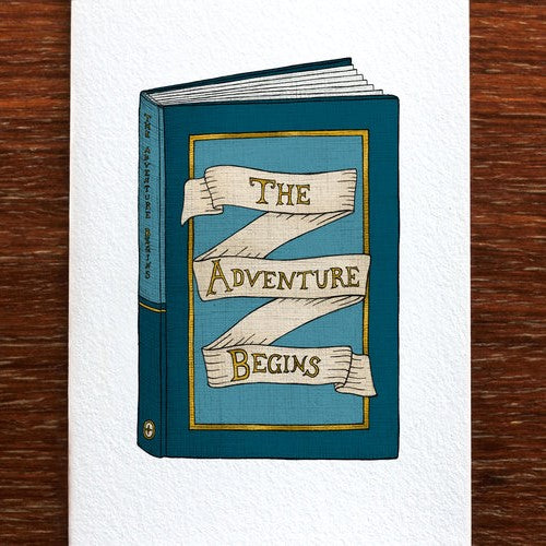 The Nonsense Maker The Adventure Begins - Greeting Card