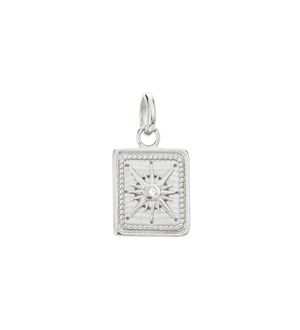 Kirstin Ash Tiny True North Coin- Sterling Silver