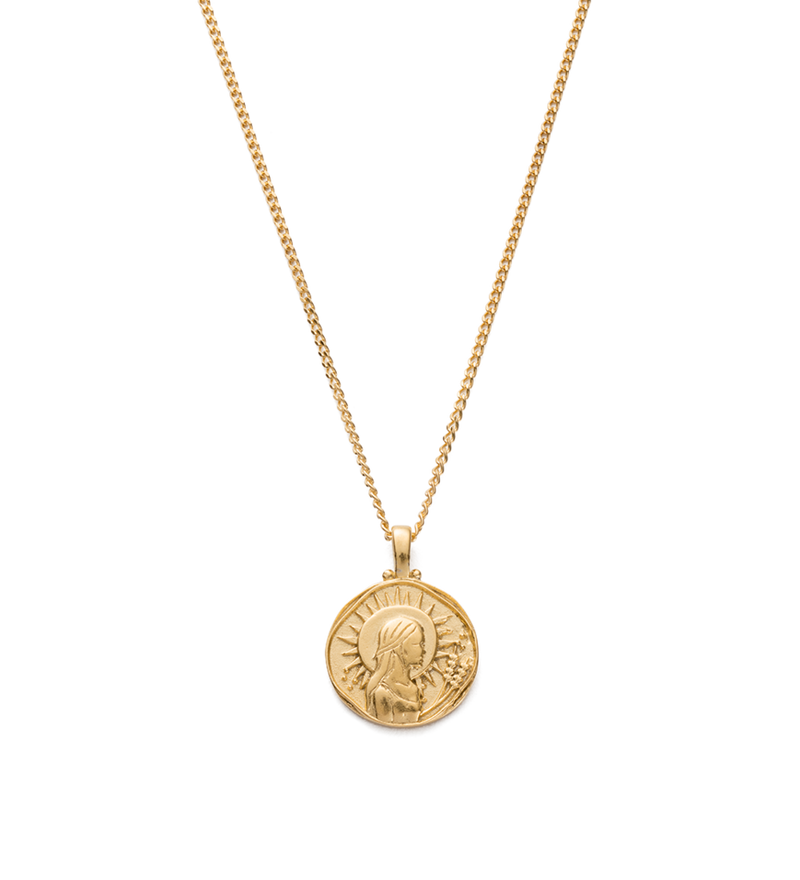 Kirstin Ash Virgo Zodiac Necklace- 18k gold vermeil