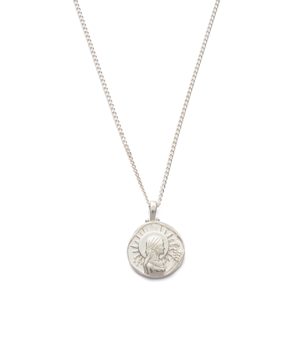 Kirstin Ash Virgo Zodiac Necklace- Sterling Silver