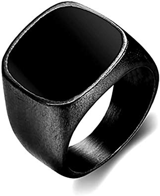 bague homme style chevaliere
