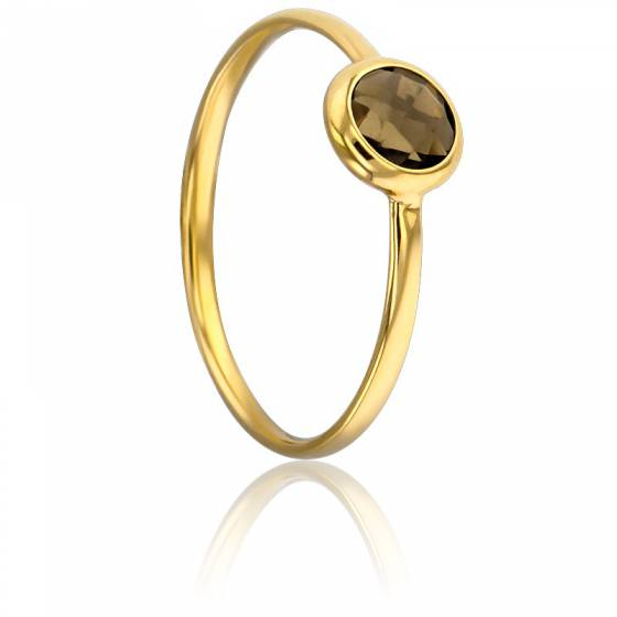 bague or jaune 18 ct