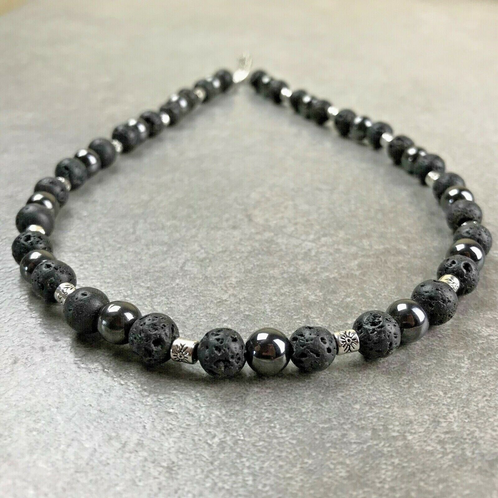 collier perle homme