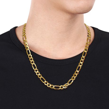 collier pour homme or