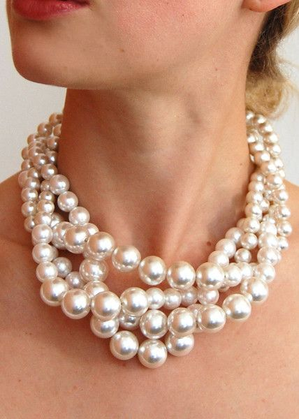 nettoyer collier de perles