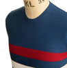 AGC Scene Knitted Jumper - Mid Blue - Art Gallery Clothing - ModWear