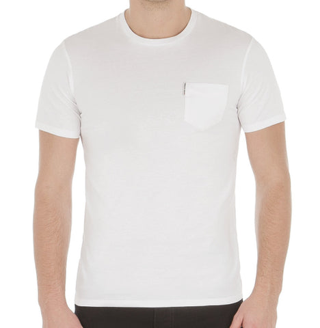 Ben Sherman Plain Tee - White