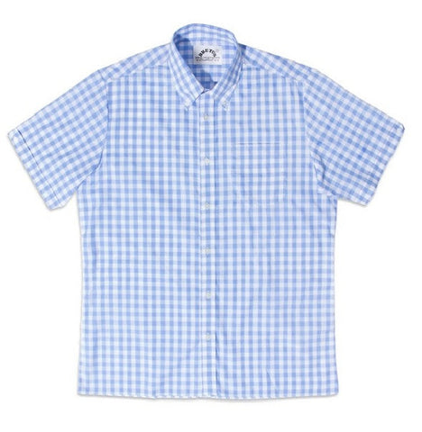Brutus Trimfit - Sky Blue Large Gingham