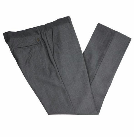Gabicci Vintage Suit Trouser - Grey Tonic