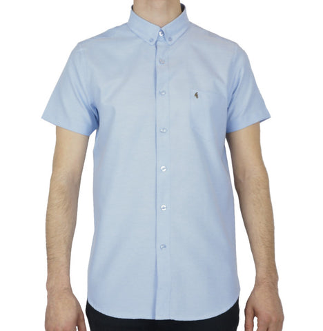 Gabicci Vintage Oxford Shirt - Blue