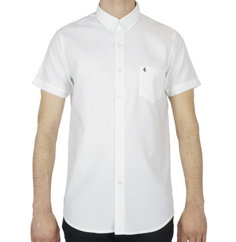 Gabicci Vintage Oxford Shirt - White