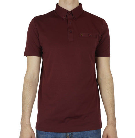 Gabicci Vintage Polo - Port