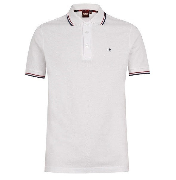 Merc Card Polo - White - Merc - Mod Wear - 1