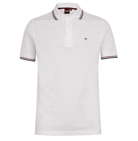 Merc Card Polo - White