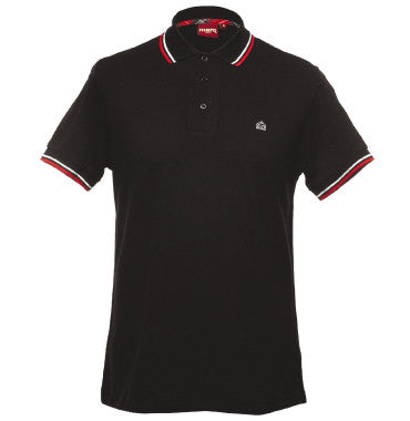 Merc Card Polo - Black
