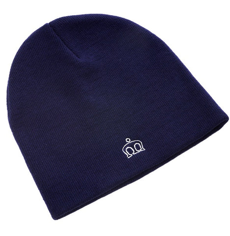 Merc Collins Beanie Hat - Navy
