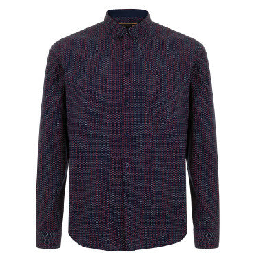 Merc Larkin Shirt - Navy