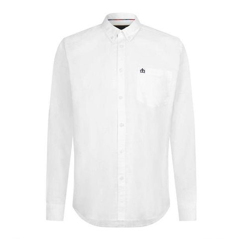 Merc Oval Oxford Shirt - White