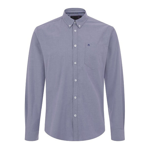 Merc Oval Oxford Shirt - Blue
