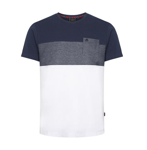 Merc Romeo T-Shirt - White/Navy