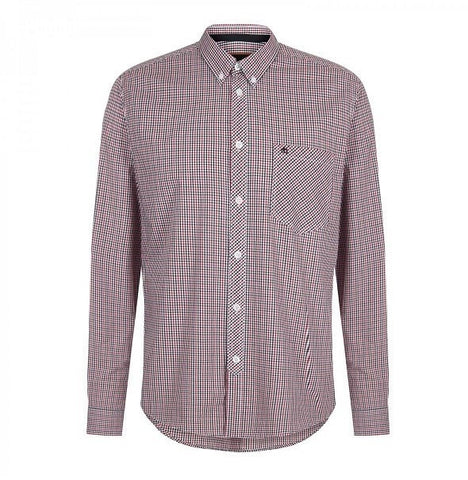 Merc Syndale Check Shirt - Red