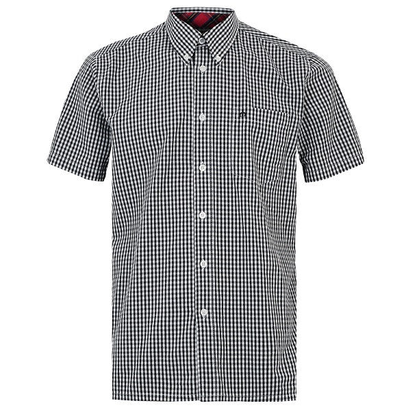 Merc Terry Gingham Shirt - Black - Merc - Mod Wear - 1