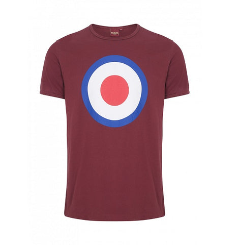 Merc Ticket T-Shirt - Burgundy