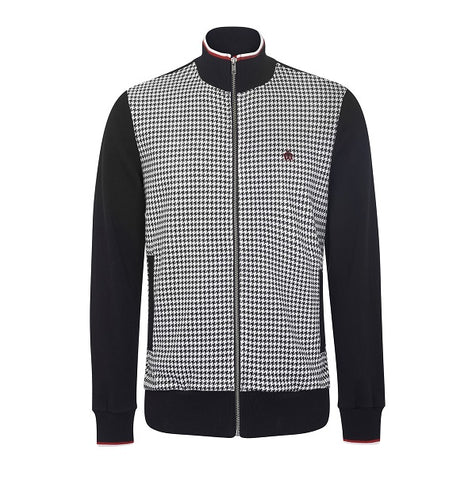Merc Willow Dogtooth Track Top - Black