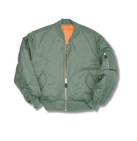 Relco MA1 Bomber Jacket - Olive