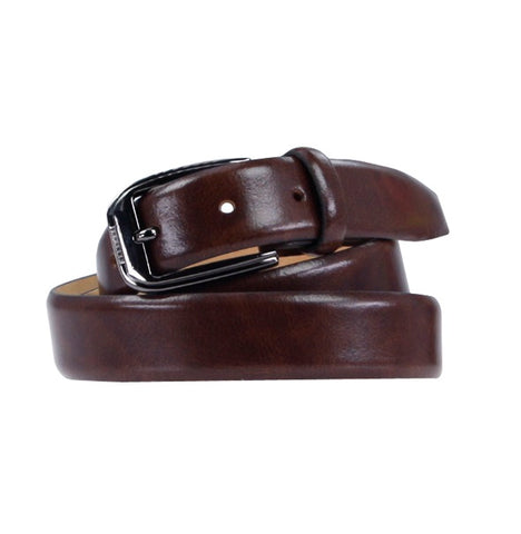 Souled Out Formal Leather Belt - Brown