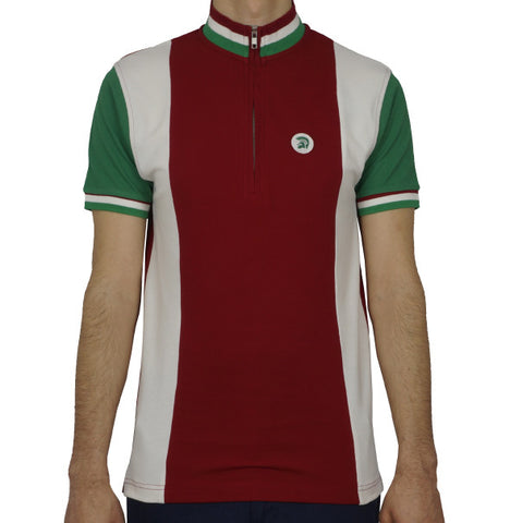 Trojan Cycling Shirt - Blood