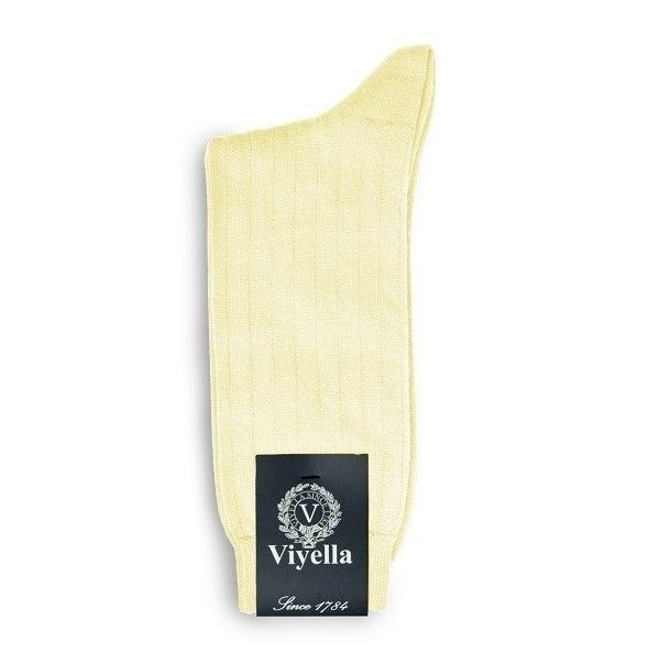 Viyella Wool Socks - Lemon - Viyella - ModWear