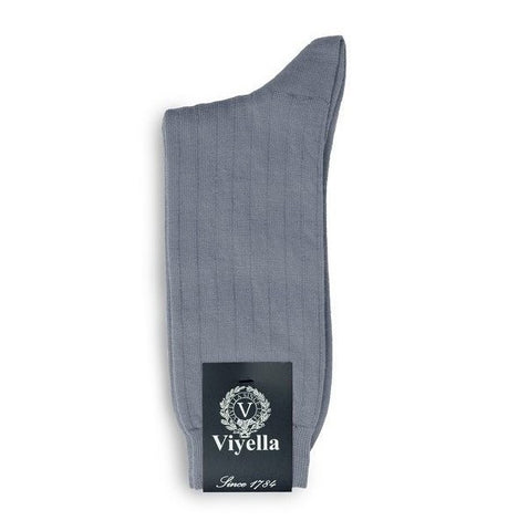 Viyella Wool Socks - Powder Blue