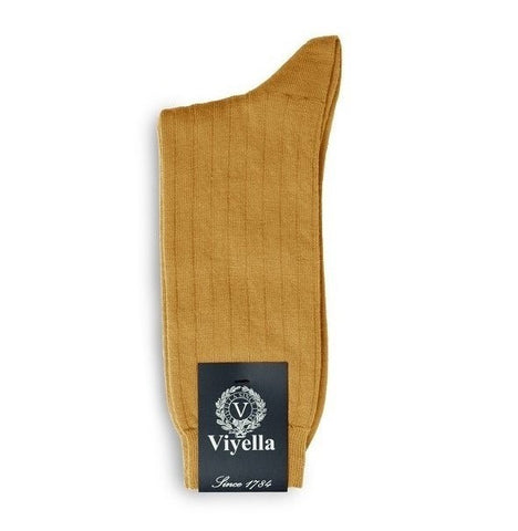 Viyella Wool Socks - English Mustard