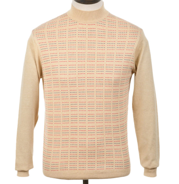 AGC Gouldman Turtle Neck - Oat - Art Gallery Clothing - ModWear