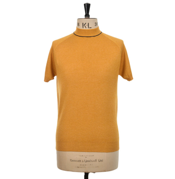 AGC Stoneham Turtle Neck - Mustard - Art Gallery Clothing - ModWear