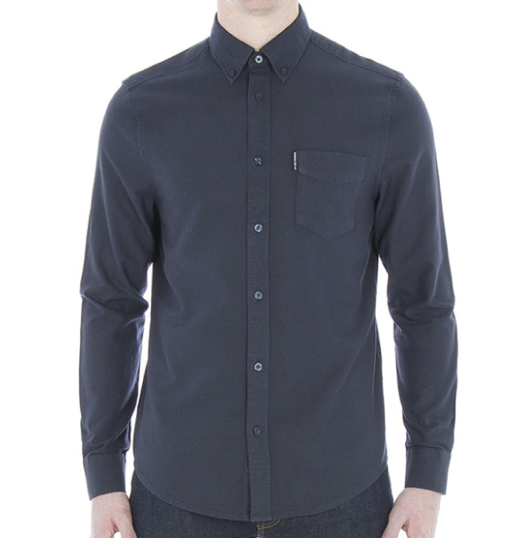 Ben Sherman Oxford Shirt - Dark Navy