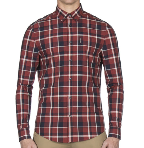 Ben Sherman Poplin Check - Rust