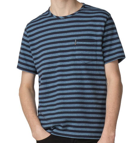 Ben Sherman Stripe Tee - Dark Navy