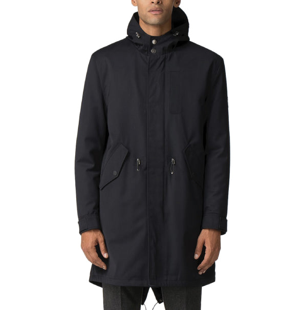 Ben Sherman Fishtail Parka - Navy - Ben Sherman - ModWear