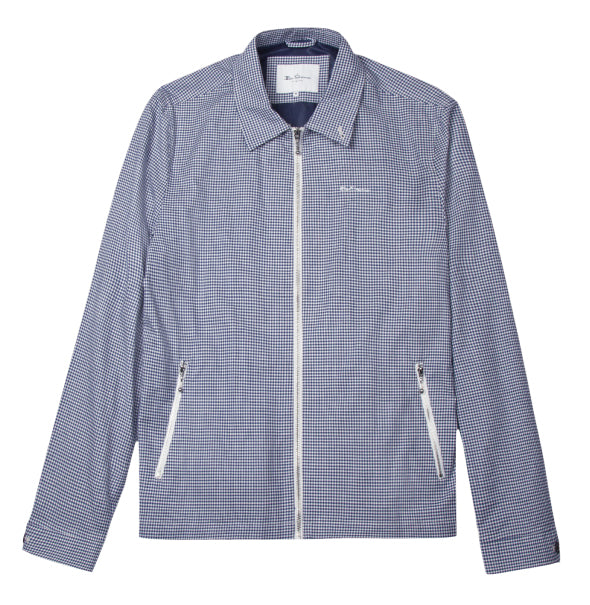 Ben Sherman Archive Jacket - Blue - Ben Sherman - ModWear