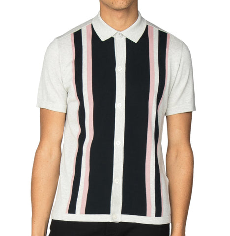 Ben Sherman Knitted Mod Polo - Ecur