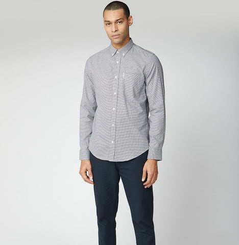 Ben Sherman Puppytooth - Dark