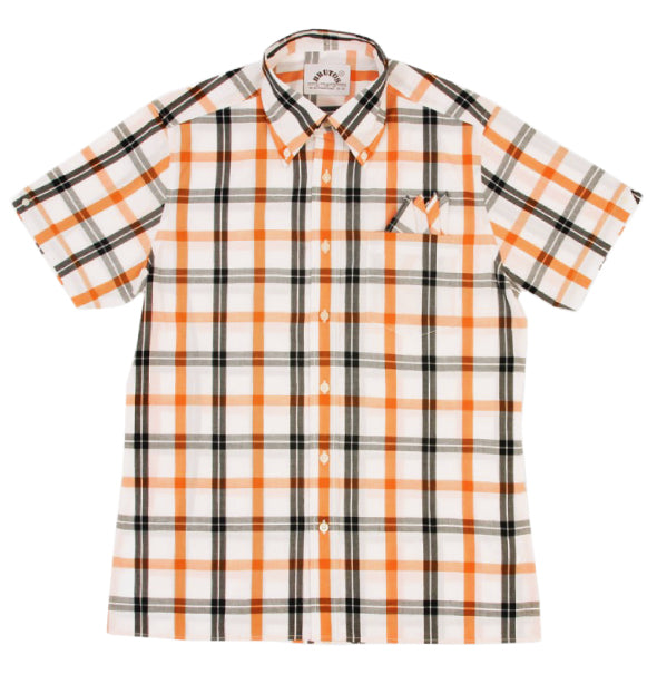 Brutus Trimfit Check - White/Orange - Brutus - ModWear