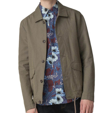 Ben Sherman Military Jacket - Olive
