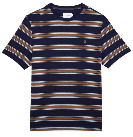 Farah Vintage Morgan T-Shirt - Navy